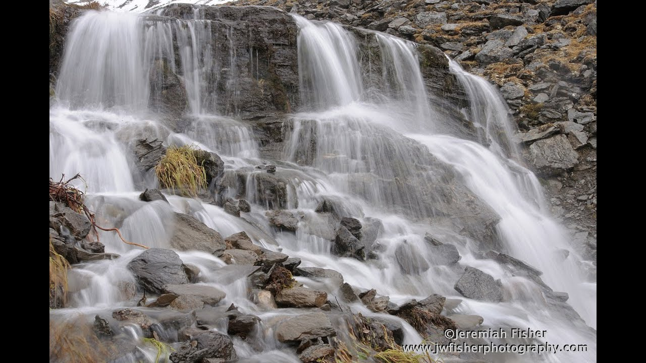 how to take waterfall pictures dslr