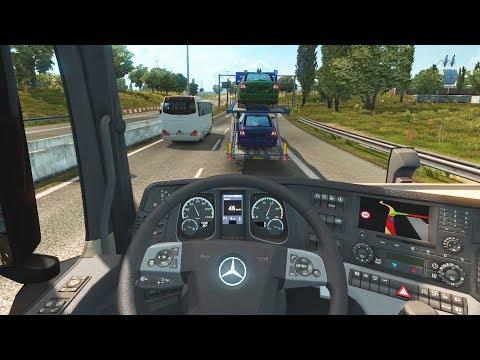 Euro Truck Simulator 2 - Mercedes-Benz New Actros Open Pipe | Rotterdam to Hamburg