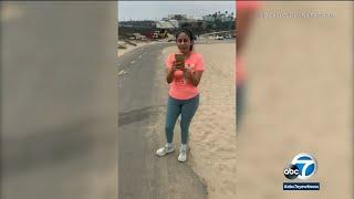 Woman launches racist rant toward 3 Black women at Dockweiler Beach | ABC7