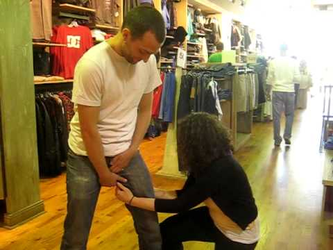 Mavi Jeans get ripped off - YouTube