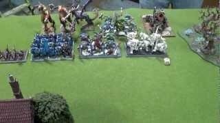 WHFB (26) - 3000 Vampire Counts vrs Warriors of Chaos, Van Berkel Invitational