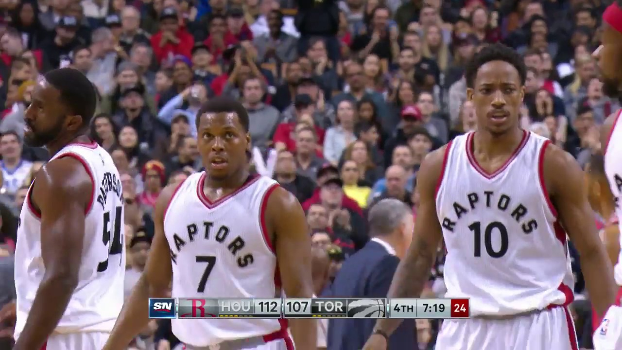 1f8d7cc2f987 James Harden and DeMar DeRozan Battle it out in Toronto