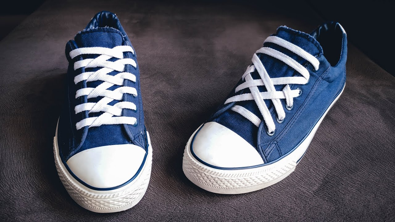 5 Awesome ways to Lace your Shoes