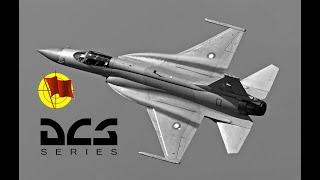 DCS World: JF-17 Thunder  - Быстрый холодный запуск и взлет (перевод ролика от Джабберса)