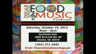 DeKalb International Food & Music Festival 2013 PSA (30 sec)