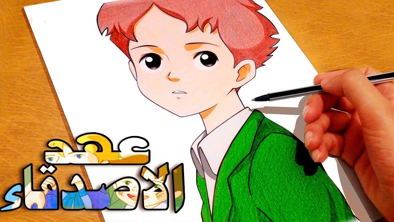 رسم انمي روميو عهد الاصدقاء Youtube