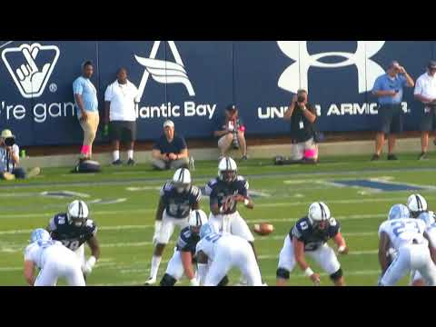 Exclusive footage from 17-year-old ODU QB Steven Williams