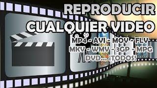 Abrir video con cualquier formato .flv .mkv .mpg .avi .loquesea y cambiar de idioma o subtitulos
