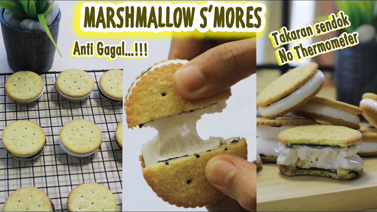 Marshmallow S Mores Takaran Sendok No Thermometer Anti Gagal Youtube
