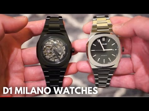 D1 MILANO XRAY + P701 Automatic Watch Reviews - Very Nice!