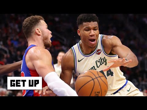Giannis Antetokounmpo and Blake Griffin go at it … Jay Williams reacts   Get Up