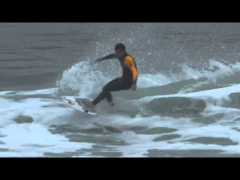 Post Round two freesurfing in Portugal