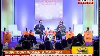 India Today Woman summit 2014: Felicitating emerging women- I