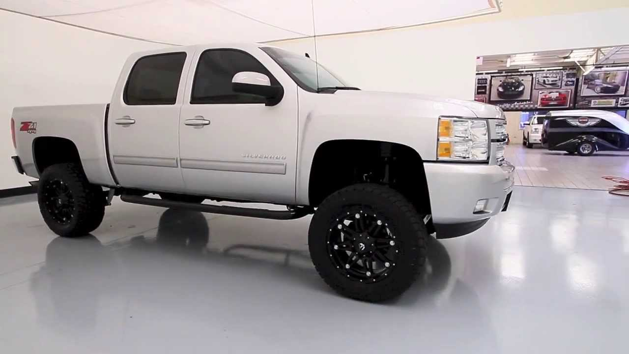 Chevy 2500 Lifted >> 2013 Chevrolet Silverado with Custom Lift, Lewisvilleautoplex.com, Used Cars Dallas - YouTube