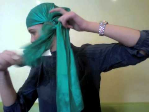 Tutoriel comment faire un turban youtube - Comment faire un coussin de sol ...