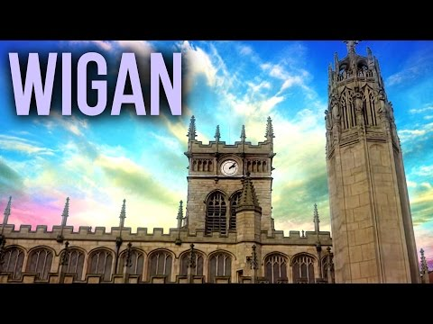 Places To Live In The UK - Wigan, Lancashire ( Greater Manchester ) England