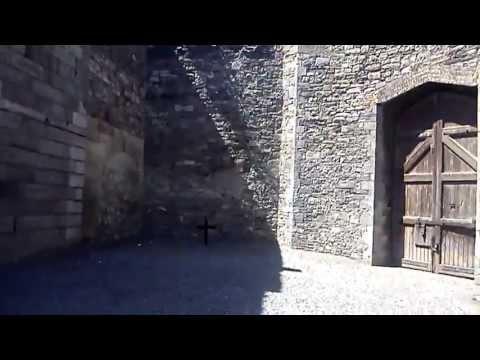 Kilmainham jail Stone breakers yard where the leaders of the 1916 rising where executed.