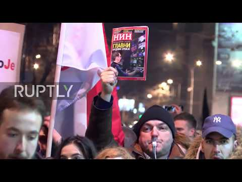 Serbia: Fourth anti-government protest hits Belgrade
