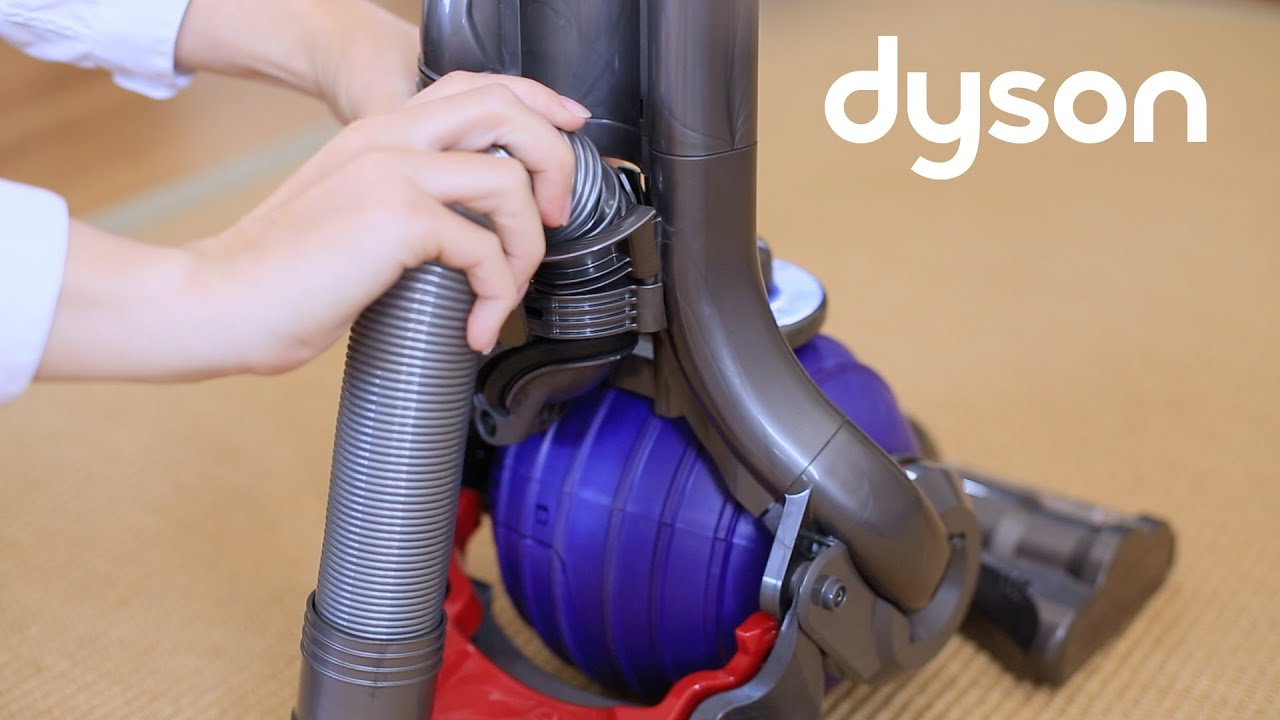 Dyson Dc24 Replacing The Hose Uk Youtube
