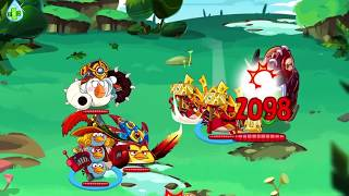 Angry Birds Epic Cave 26 (The True Final Boss) 3 Star Walkthrough Tutorial