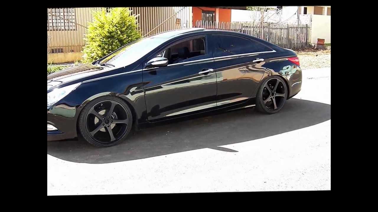 Red Hyundai Sonata >> Hyundai Sonata + BMW 530i - YouTube