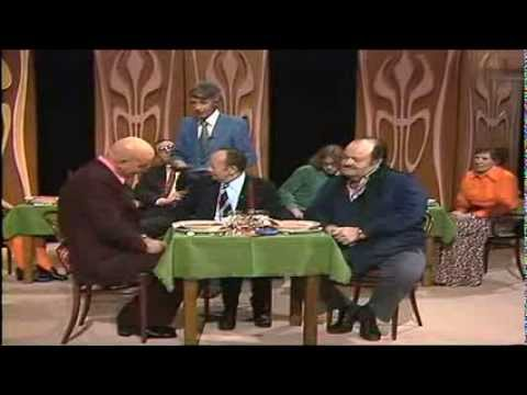 Telly Savalas, William Conrad & Erik Ode bei Am laufenden Band 1975