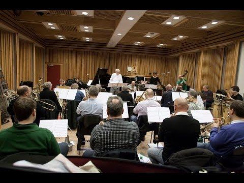 Bergen Big Band & John Surman - Another Sky - studio rehearsal
