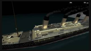 Roblox Titanic  REALISTIC WATER UPDATE