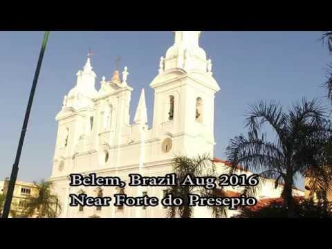Walking Around Belem Brazil. Forte Do Presepio, Brasil Aug 2016