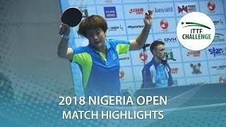 Fan Siqi vs Guo Yan | 2018 Nigeria Open Highlights (U21-Final)