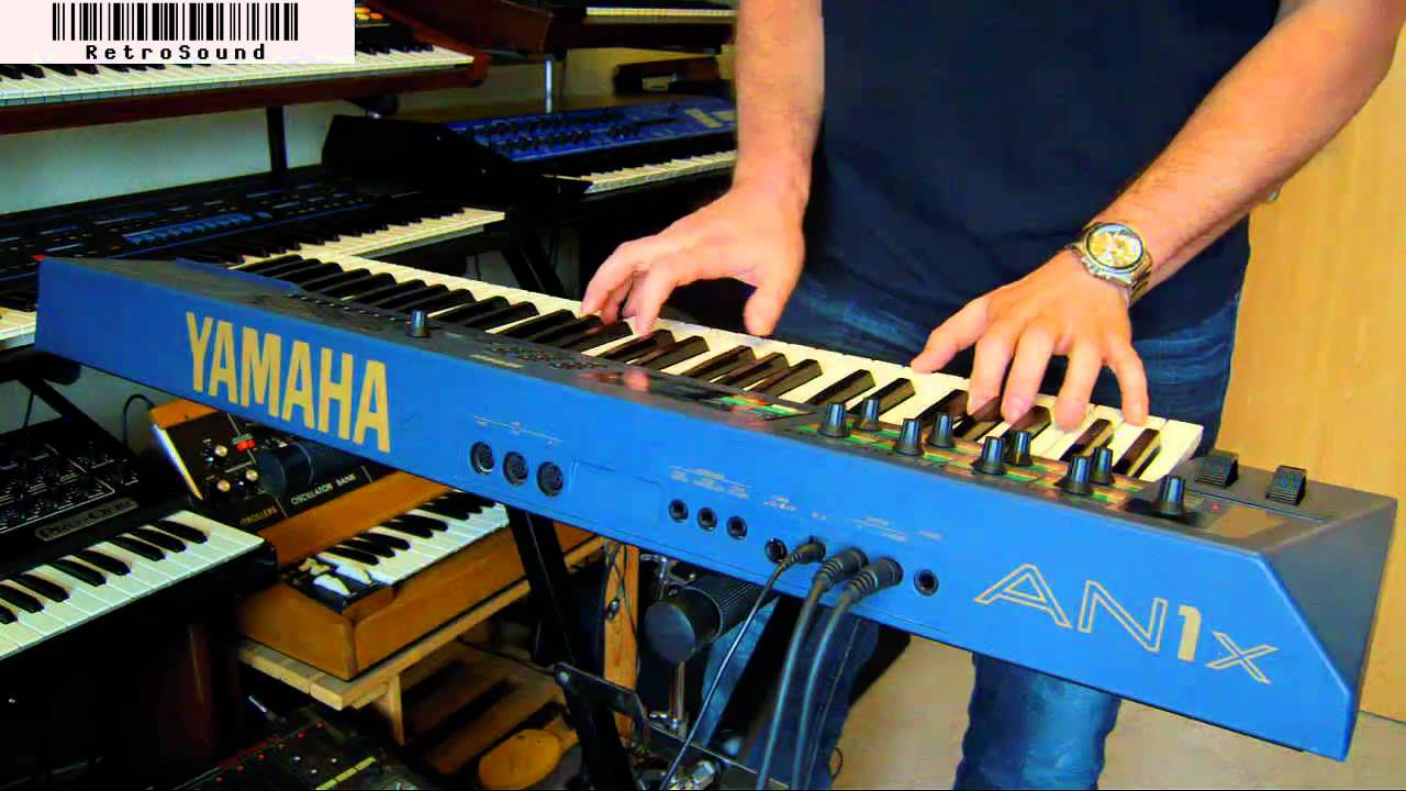 YAMAHA AN1x Virtual Analog Synthesizer