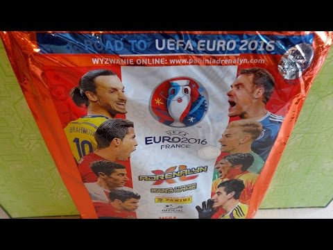 Part 2: Road to UEFA EURO 2016 FRANCE Panini Adrenalyn XL Mega Starterpack Limited Edition Cards