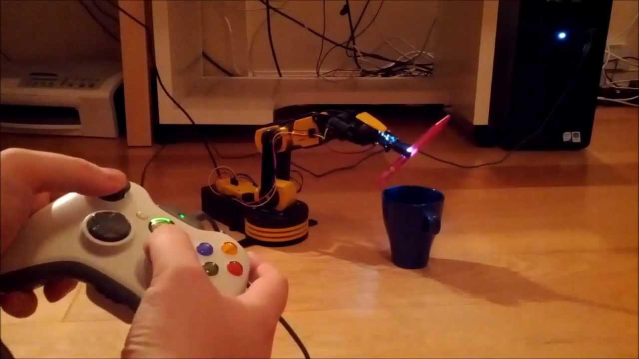 Matt Dyson | Robot Arm