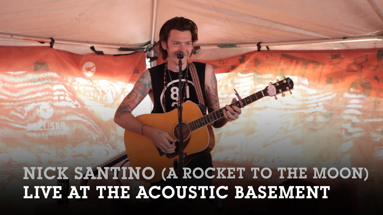 Nick Santino   Acoustic Basement 6.20.14 Full Set   YouTube