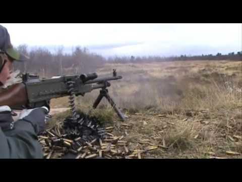 Swedish Army Machinegun KSP58B