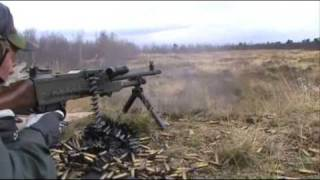 Swedish Army Machinegun KSP58B