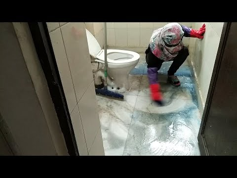 Dirty BATHROOM CLEANING ROUTINE 2019 | How To Clean Bathroom,Toilet,Washroom