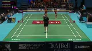 AJ Bell National Badminton League LIVE : Badminton   Team Derby v Surrey Smashers