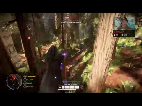 GRINDING EVERYDAY//STAR WARS BATTLEFRONT 2//LIVE PS4 thumbnail