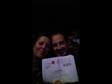 "Zucchero ""Black Cat Tour"" à Forest National : 15/10/2016"