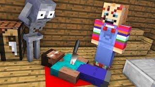 Monster School : CHUCKY HORROR GAME Challenge - Minecraft Animation