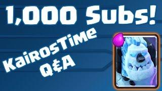 1 000 subscriber q 3 ice golem decks thank you so much