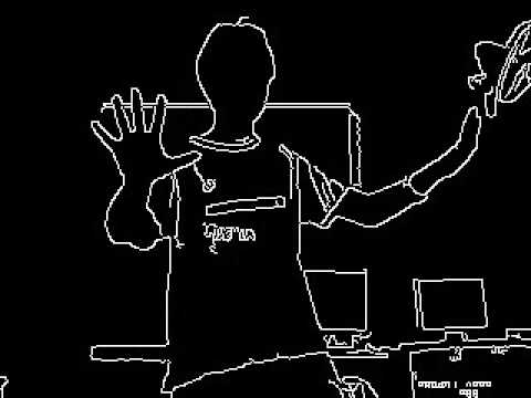 real time edge detection
