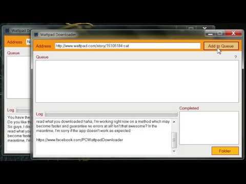 Wattpad Downloader PC App! (Free) Download Stories - New Version (v1.0)