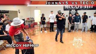 Johnny5 vs TEC-O MAIN EVENT Fresno, Ca. McCoy Hip Hop TURFinc Dance Battle Tour 2017