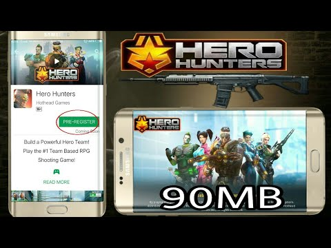 (90MB) DOWNLOAD HERO HUNTERS ONLY APK FREE FOR ANDROID