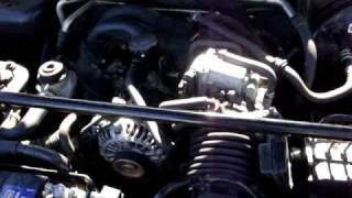 RX8 moteur en marche au ralenti