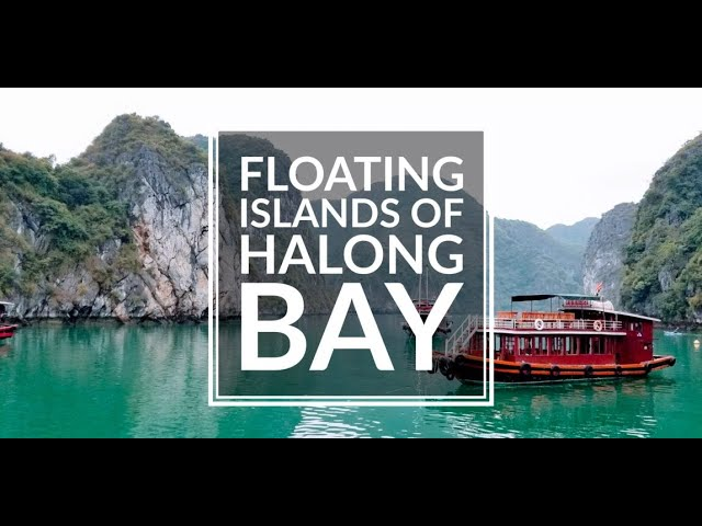 Halong Bay Vietnam - Drone Video