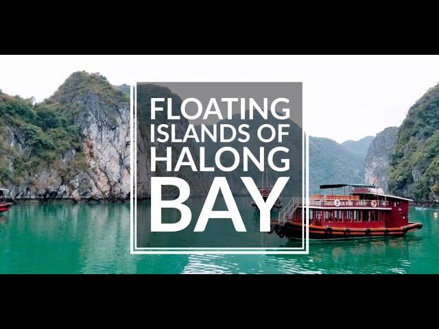 Halong Bay Vietnam - Drone Video