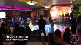 Bride with Bridesmaids Performance From New York | Punjabi Wedding | Bollywood Wedding Dance